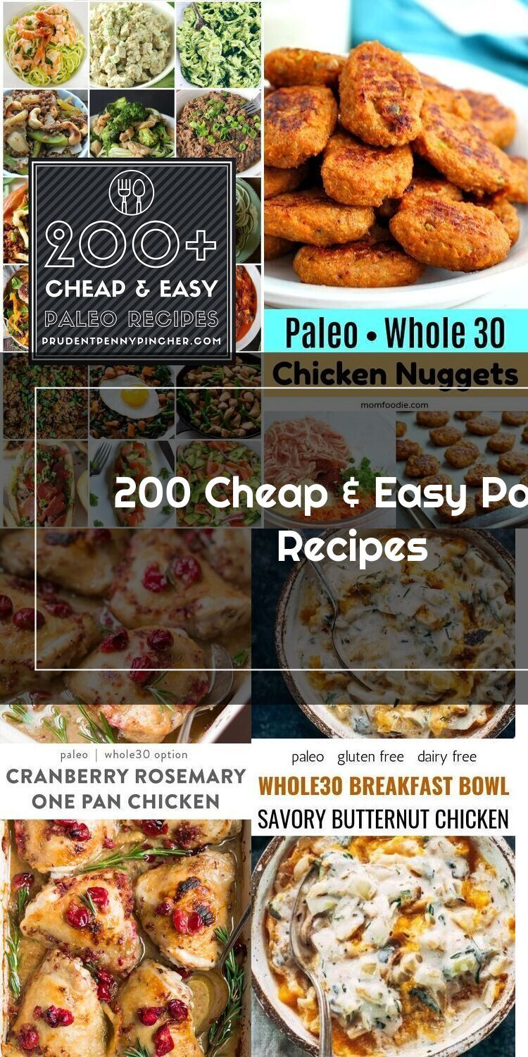 This Is A Comprehensive Collection Of The Best Cheap And Easy Paleo Recipes Paleo Recipes Easy Paleo Recipes Cheap Easy Meals