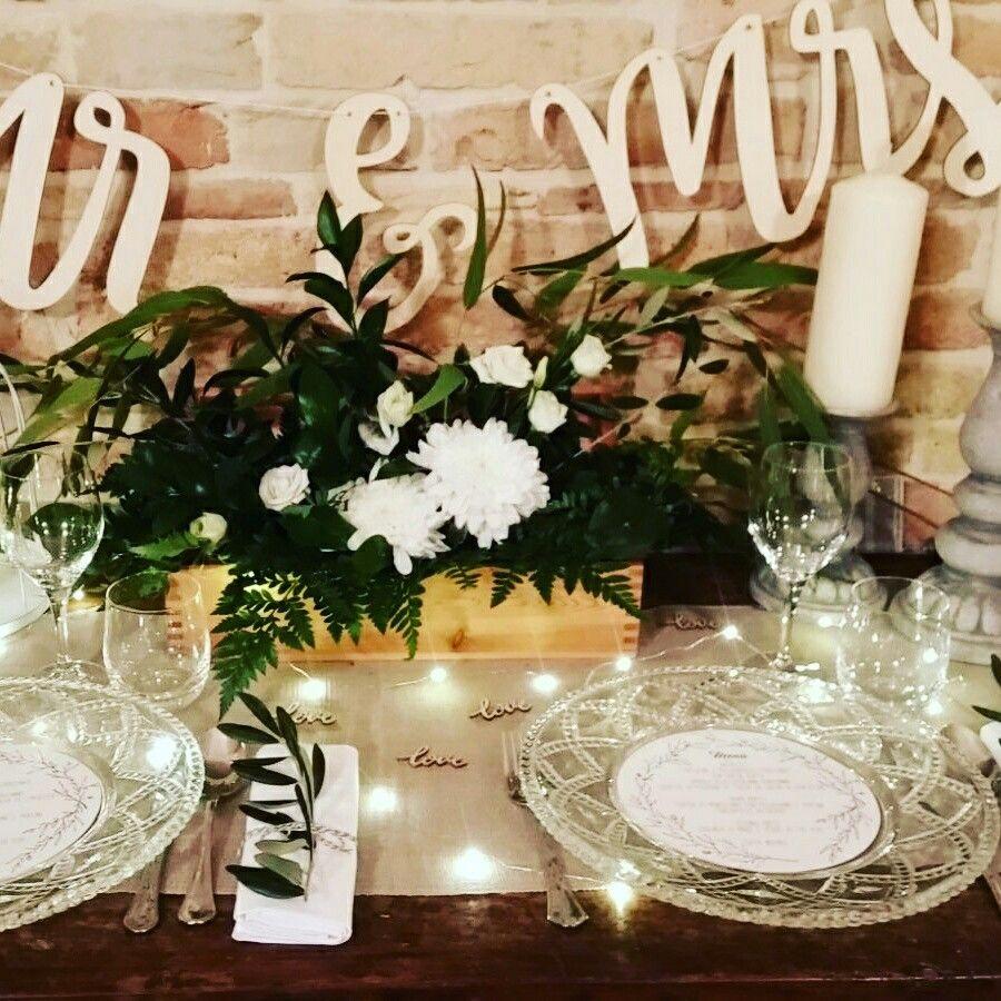 Matrimonio 2017 mise en place stile greenery #allestimento floreale #weddingstylist #location e dimora storica