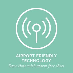 Airport Friendly Technology - Save time with alarm-free shoes