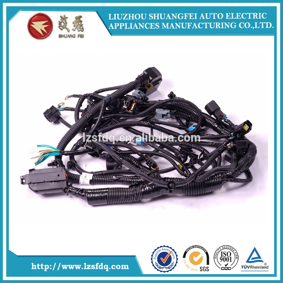 Gm Car Engine Wiring Harness Assembly Tractor Wire For Vehicles