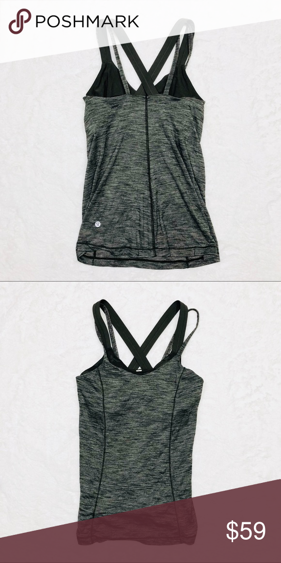 fe93be777f8 Lululemon athletica training tank with bra In excellent condition lululemon  athletica Tops Tank Tops