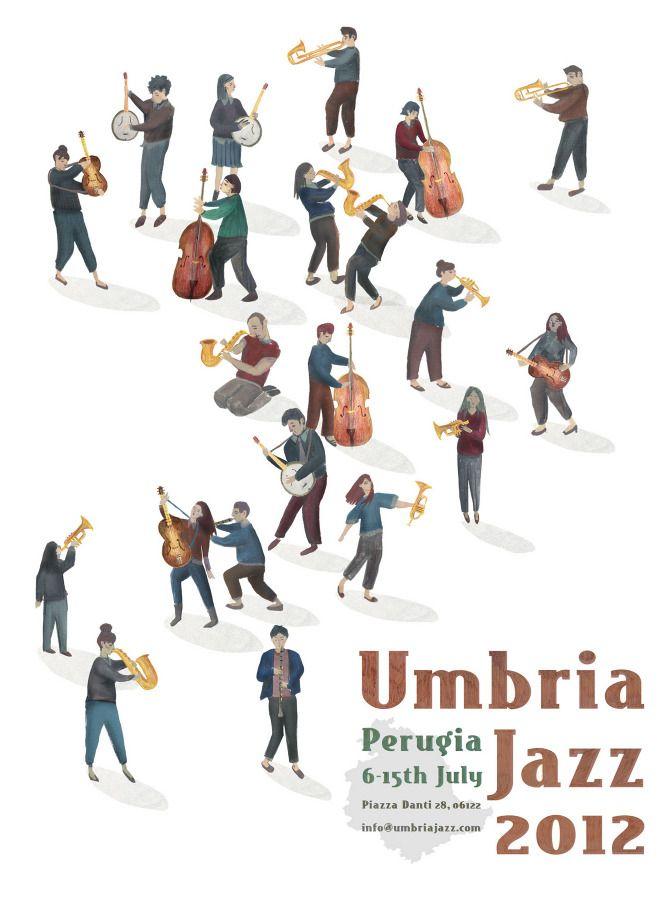 Livi Gosling Umbria Jazz Festival poster   Italy poster ...