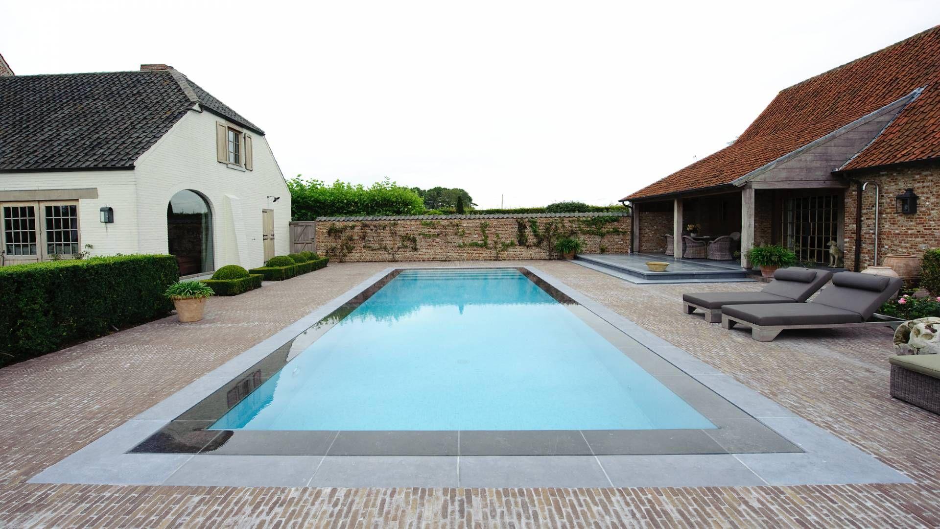Zwembad te kruishoutem zwembaden parydel zwembaden tuin