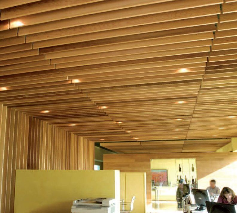 Wood Ceiling Panels Wood Veneer Ceiling Panels Beige