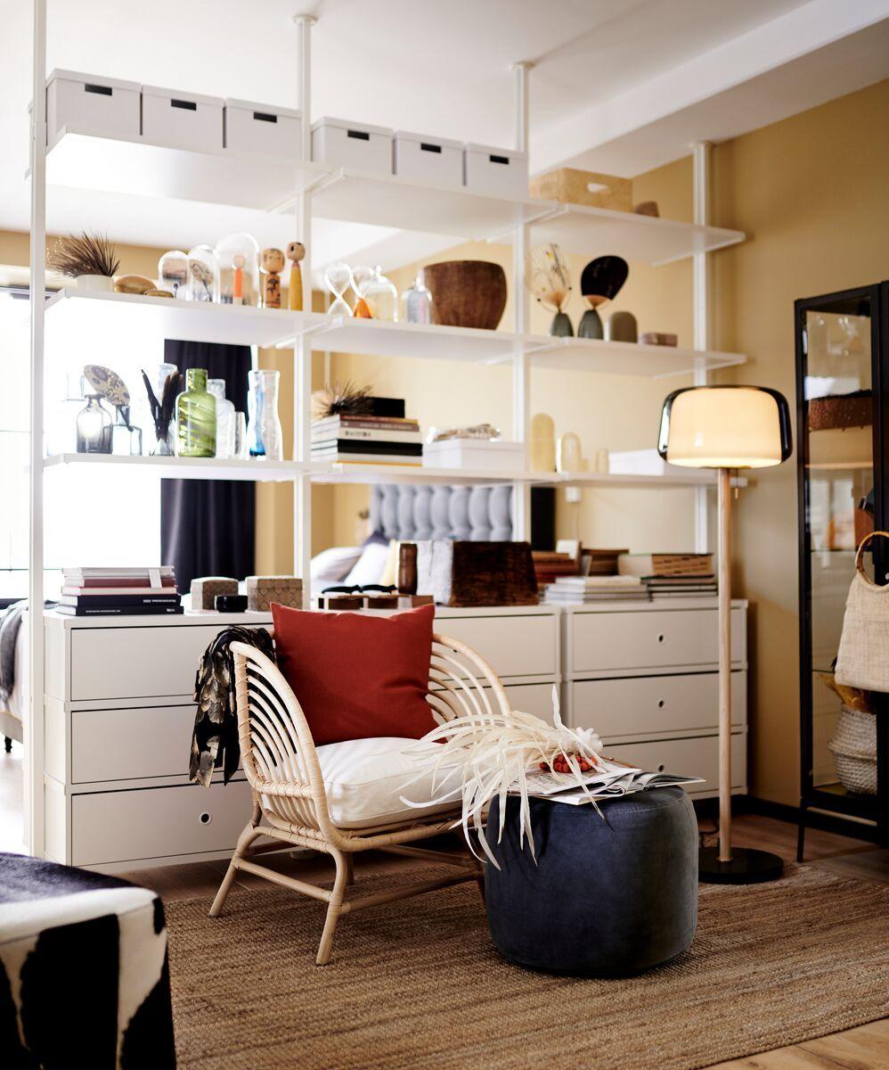 Vivre En Grand Dans Un Petit Espace Rangement Petit Espace Ikea Organisation De Petit Espace