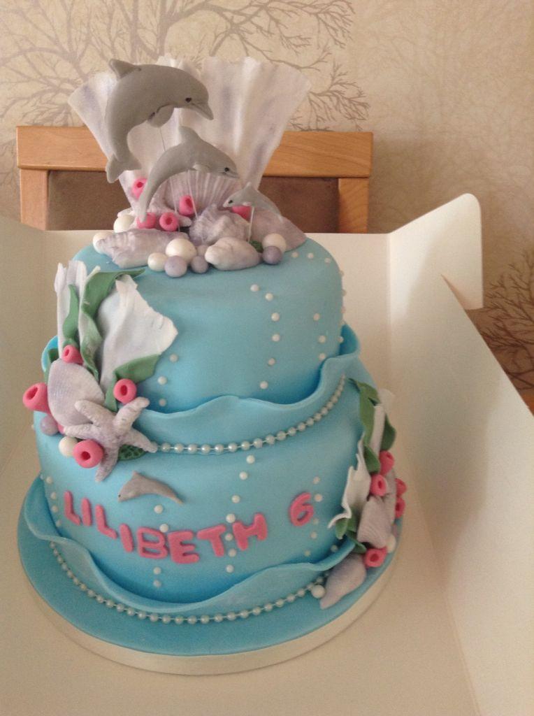 Dolphin Birthday Cake Cakes Dolphin Birthday Cakes