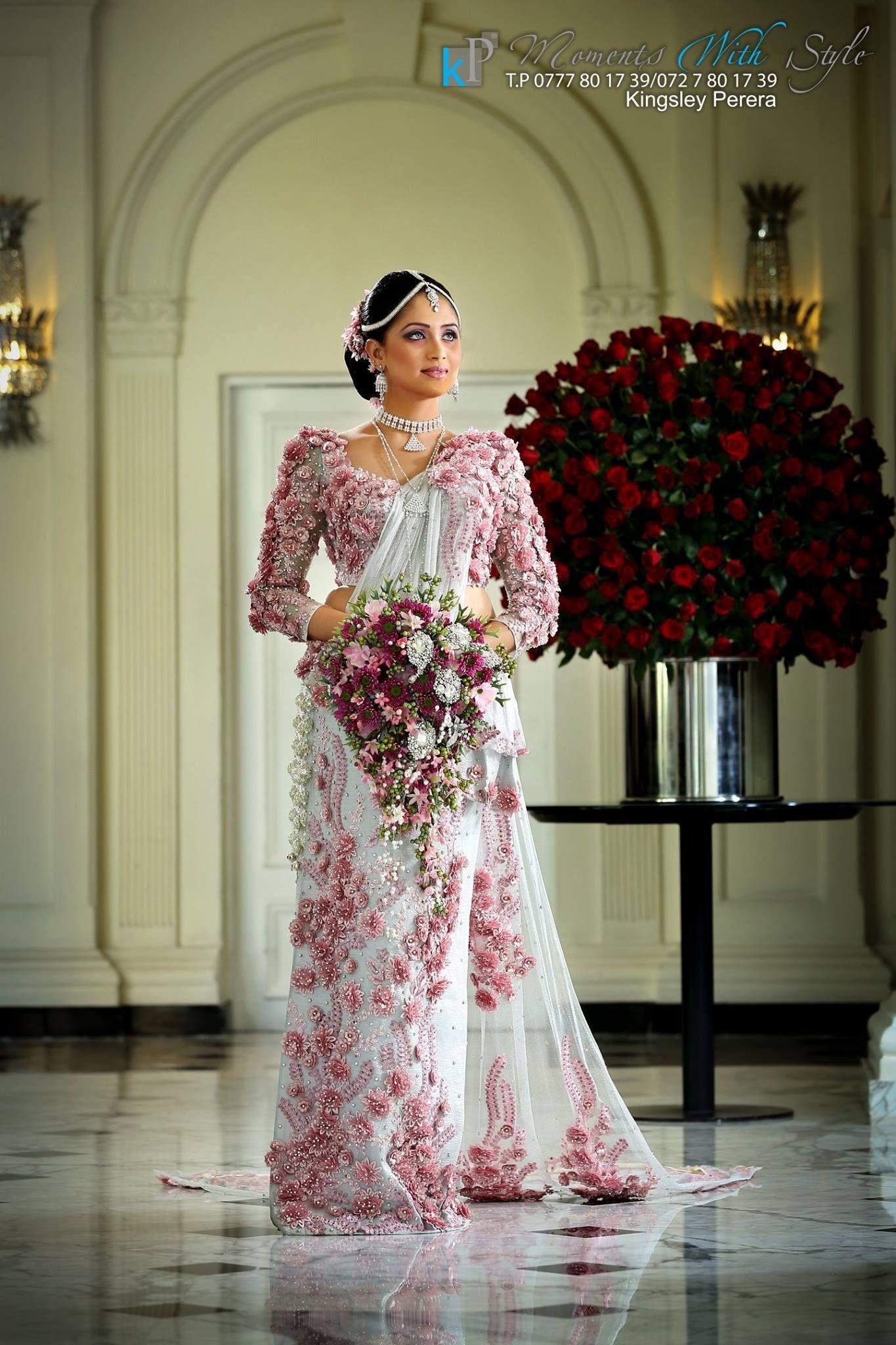 Bridesmaid saree image by Vinil Chokomilk on Sri Lankan
