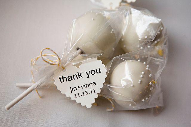 handmade cake pop wedding favors. | Pinterest | Cake pop, Favors and ...