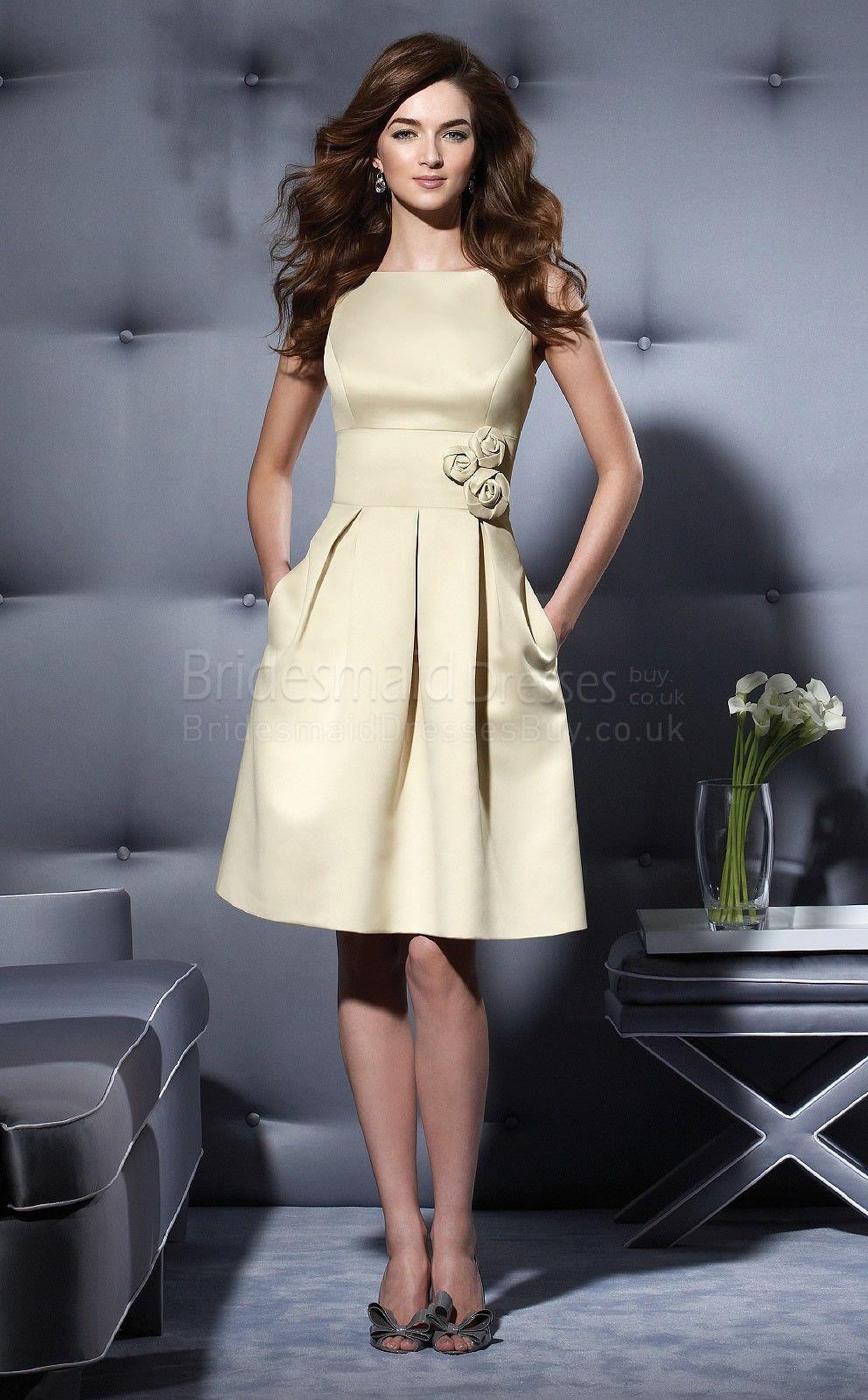 knee length bridesmaid dresses - Google Search | Bridesmaid dress ...