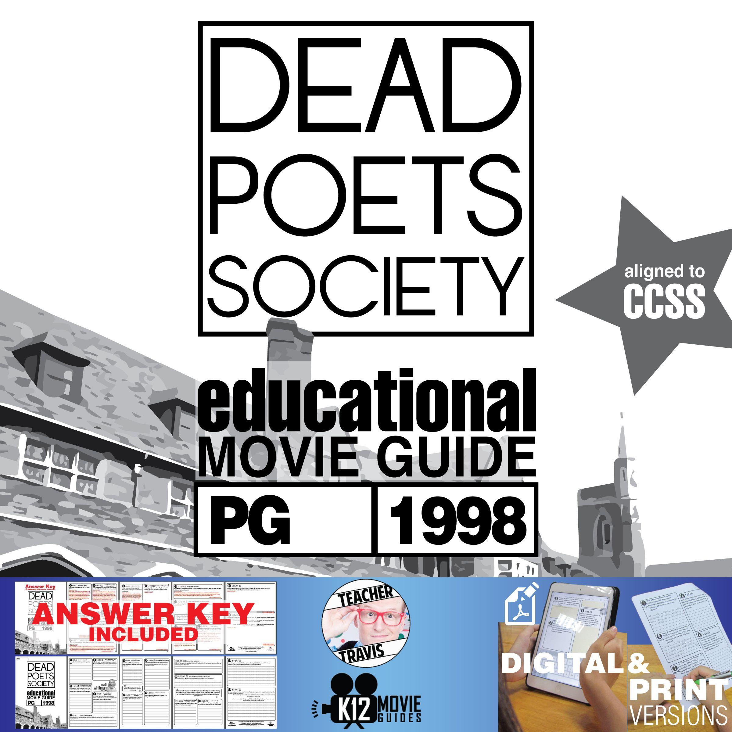 Dead Poets Society Movie Guide