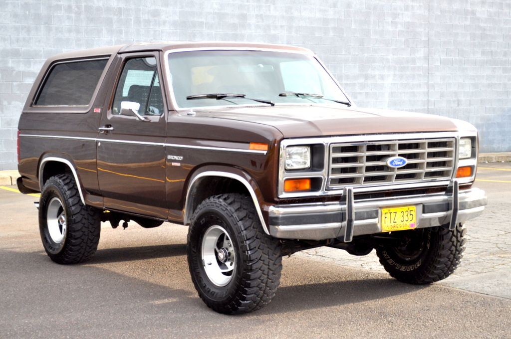 Buy Used 1982 Ford Bronco Lifted 4x4 Xlt Lariat 351 Winsor Nitrous