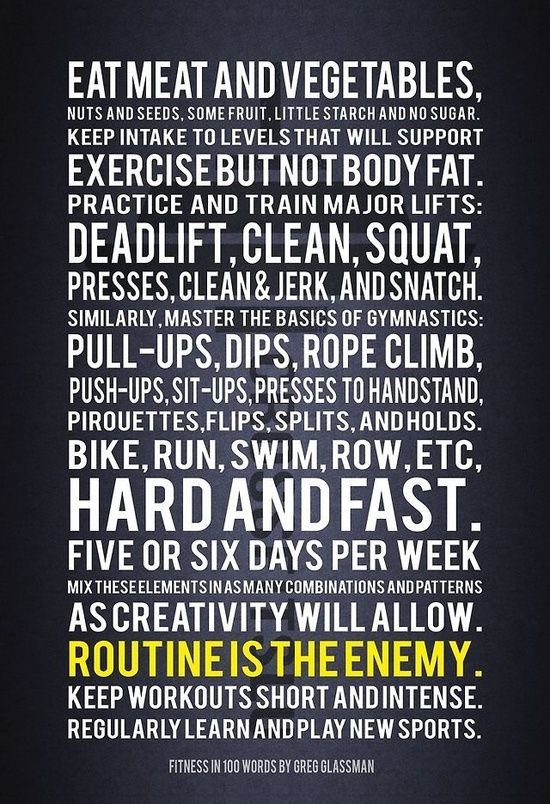 Image result for crossfit greg glassman learn new things