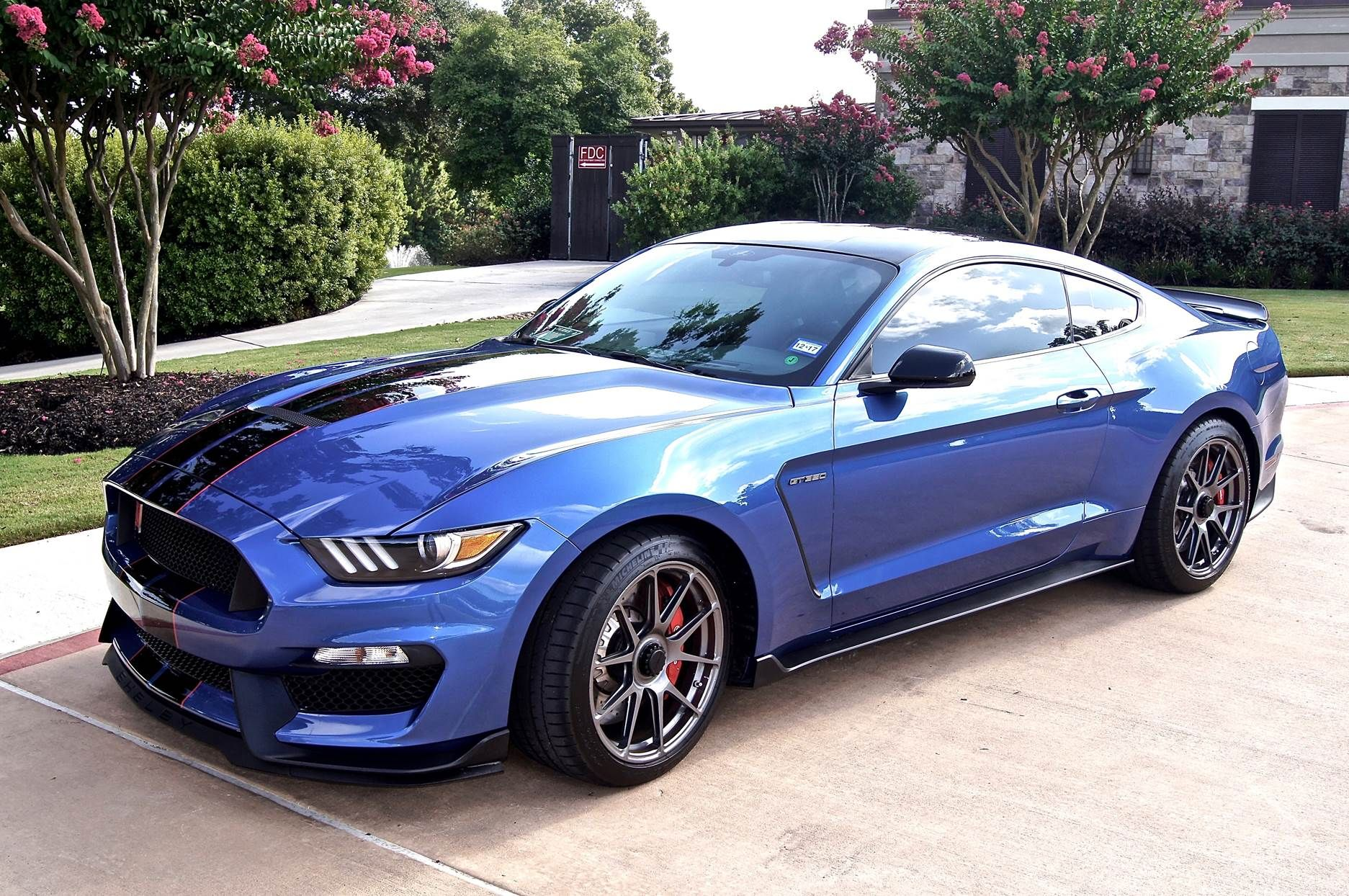 Is This The First S550 Mustang Gt 350 On Centerlock Wheels Chris