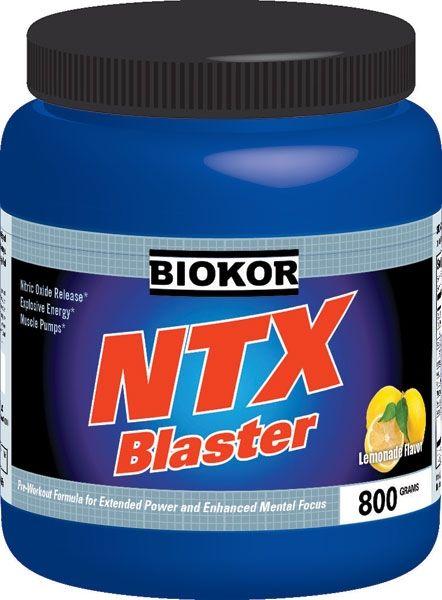 Biokor Ntx Blaster Lemonade N101 Preworkout Top Pre Workout Pre Workout Supplement