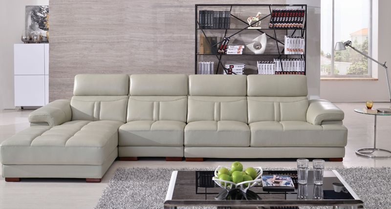 Free Shipping Top Grain Genuine Leather Sofa Moderate Thick Cover Confortable And Durable