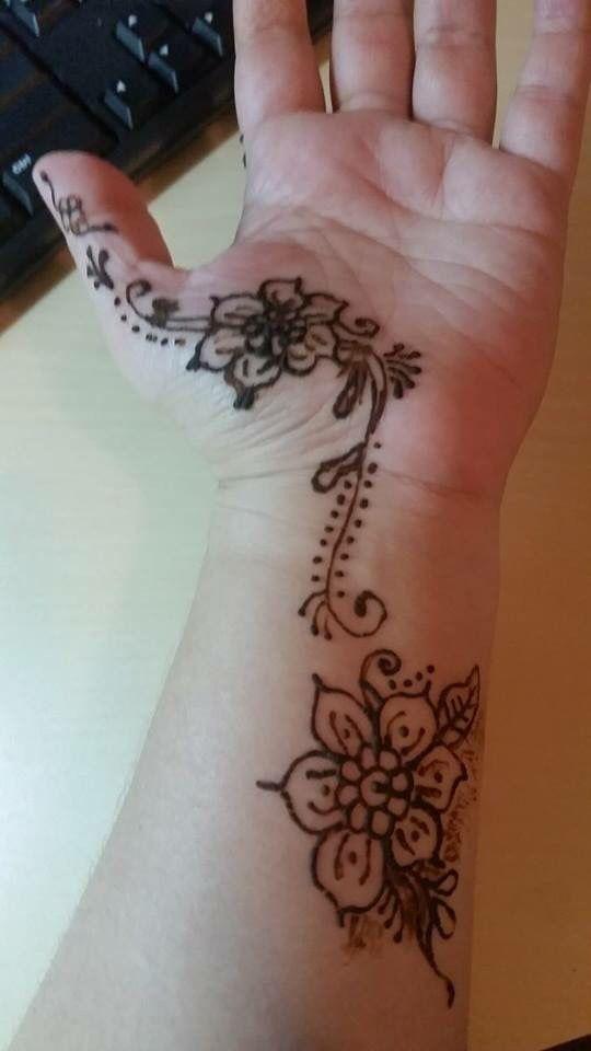 Henna Paint tattoo