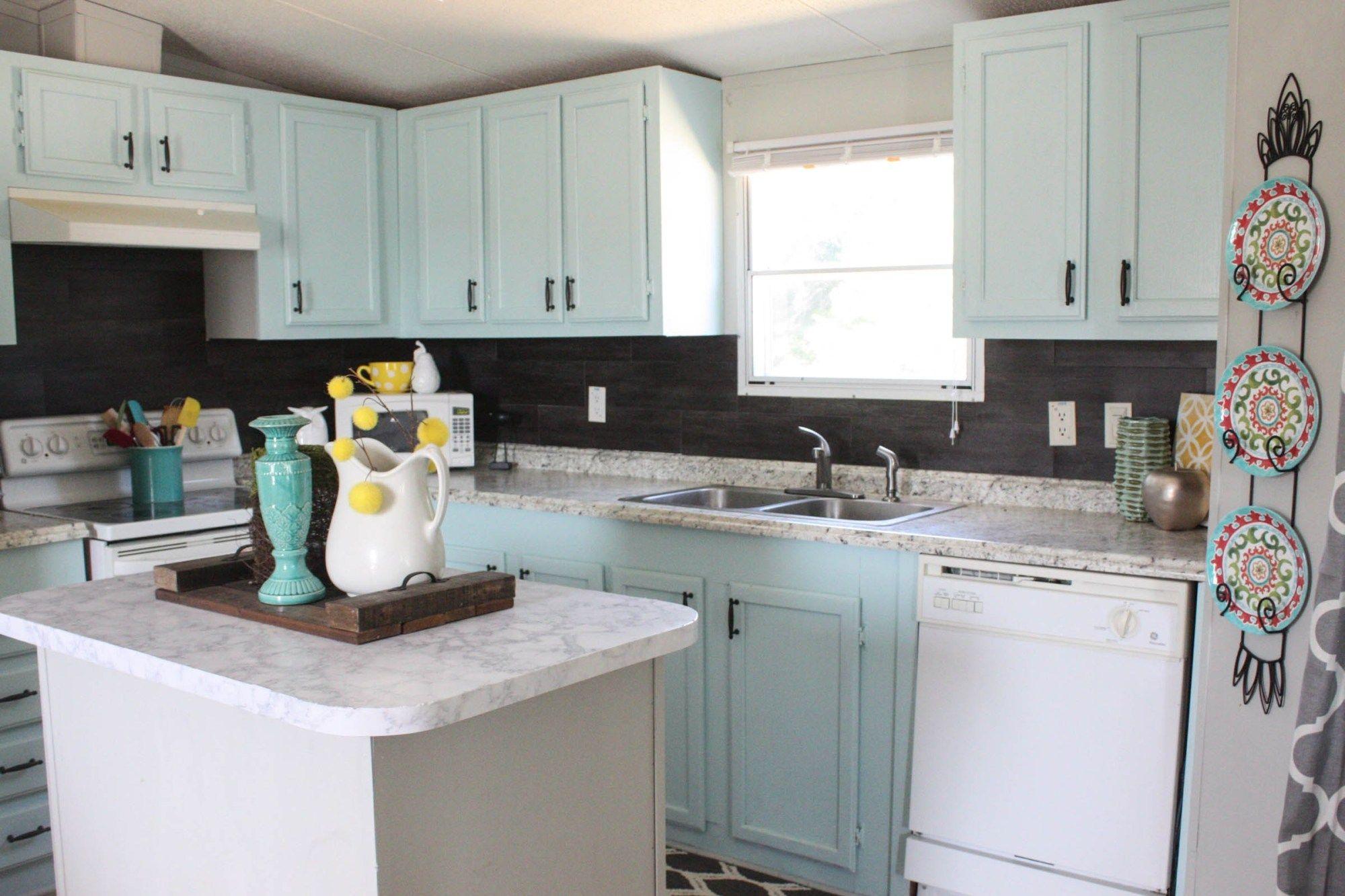 - Our $40 Backsplash {Using Vinyl Flooring} Vinyl Flooring Kitchen