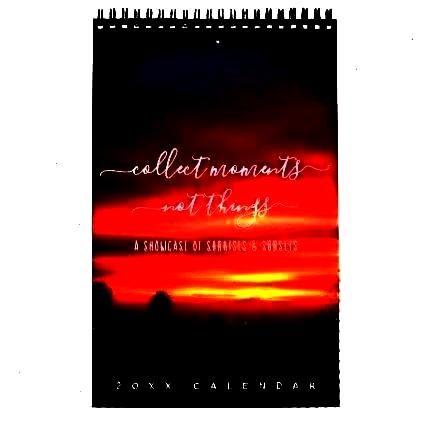 Calendar -Sunsets Quotes Landscape Photos One Page Calendar -  Edited witLandscape Photos One Page