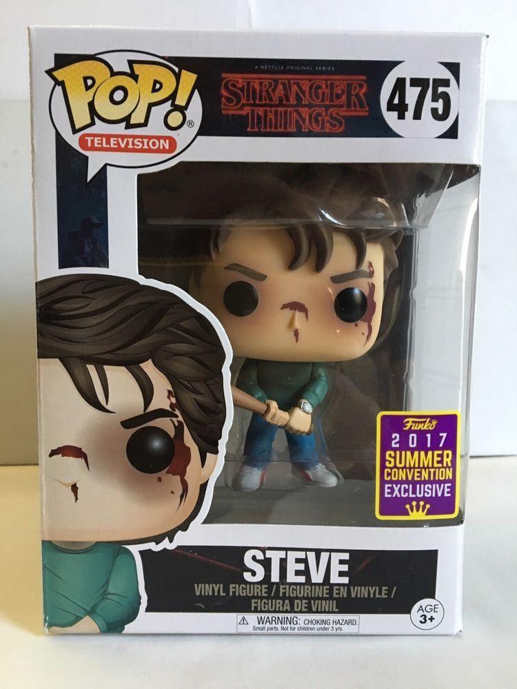 Funko Pop Steve Stranger Things Summer Convention