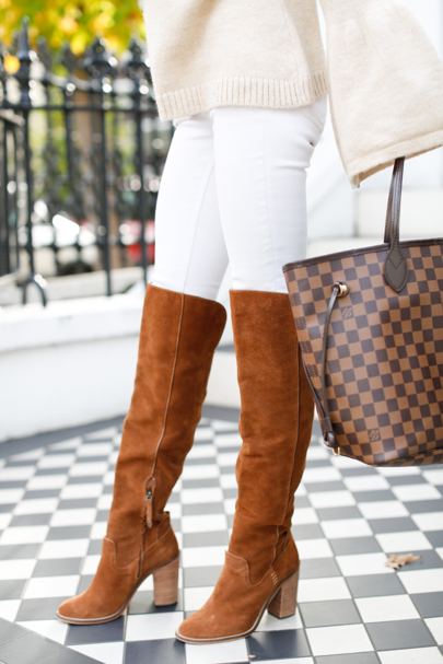 Love these  Suede over the knee boots!!!! Shop the suede shoes here: http://liketk.it/2pzWq via @liket...
