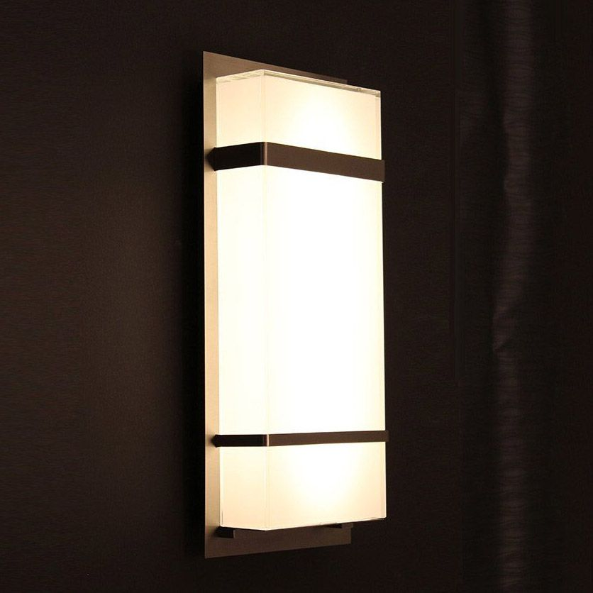 Phantom Outdoor Wall Light By Modern Forms Ws W1611 Bz Outdoor Wall Sconce Led Outdoor Lighting Outdoor Sconces
