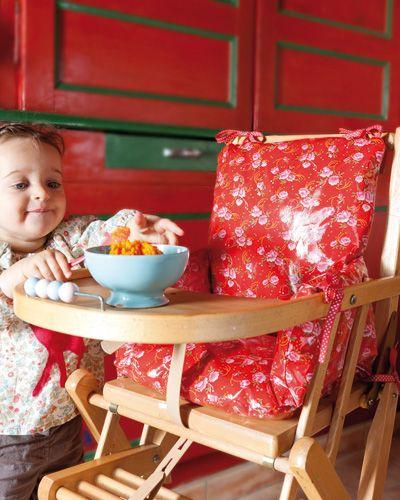 Coussin de chaise haute patron couture gratuit couture - Housse de chaise patron gratuit ...