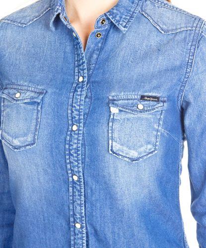 Tops Pepe Jeans Rosetta Azul en Nice & Crazy