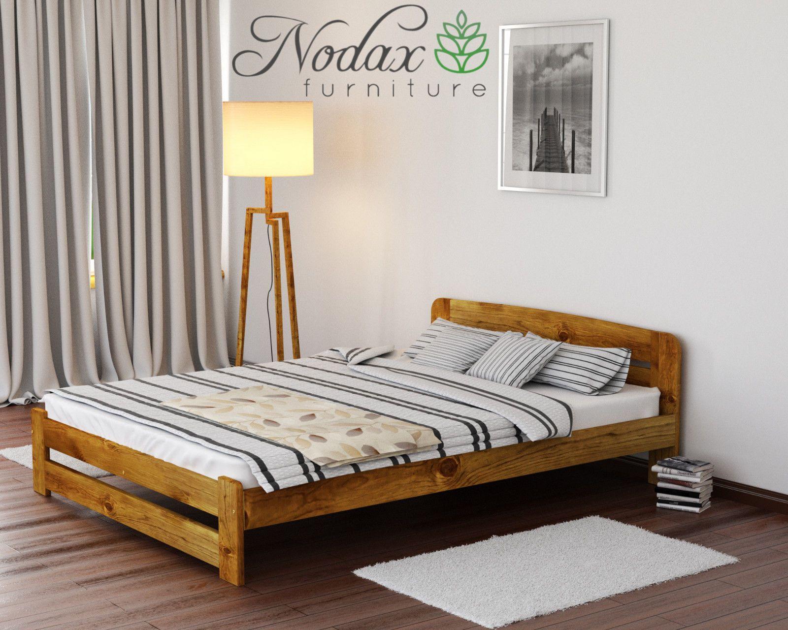 Brand New Solid Pine 5ft King Size Bed Frame & Slats WOODEN