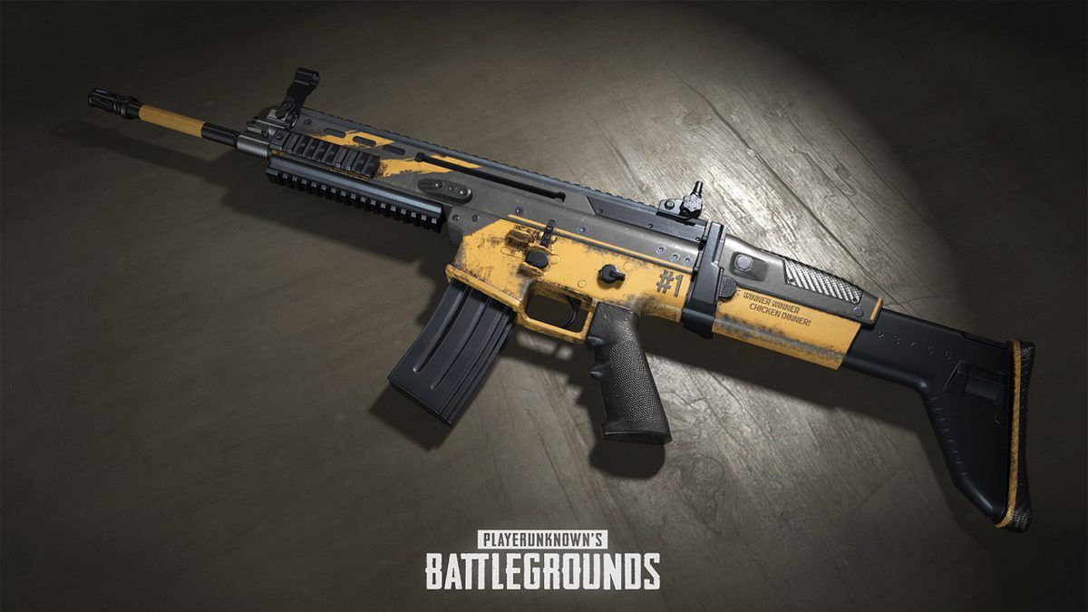 PUBG Players Can Get a Free Limited Edition One Year Anniversary Weapon Skin