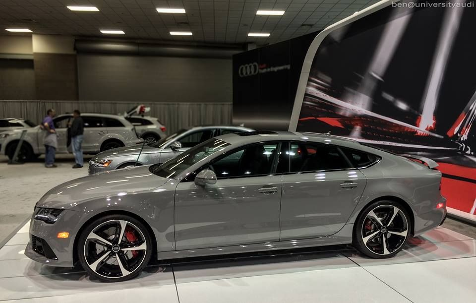 Nardo Gray Audi Rs7 University Audi Www Universityaudi Com