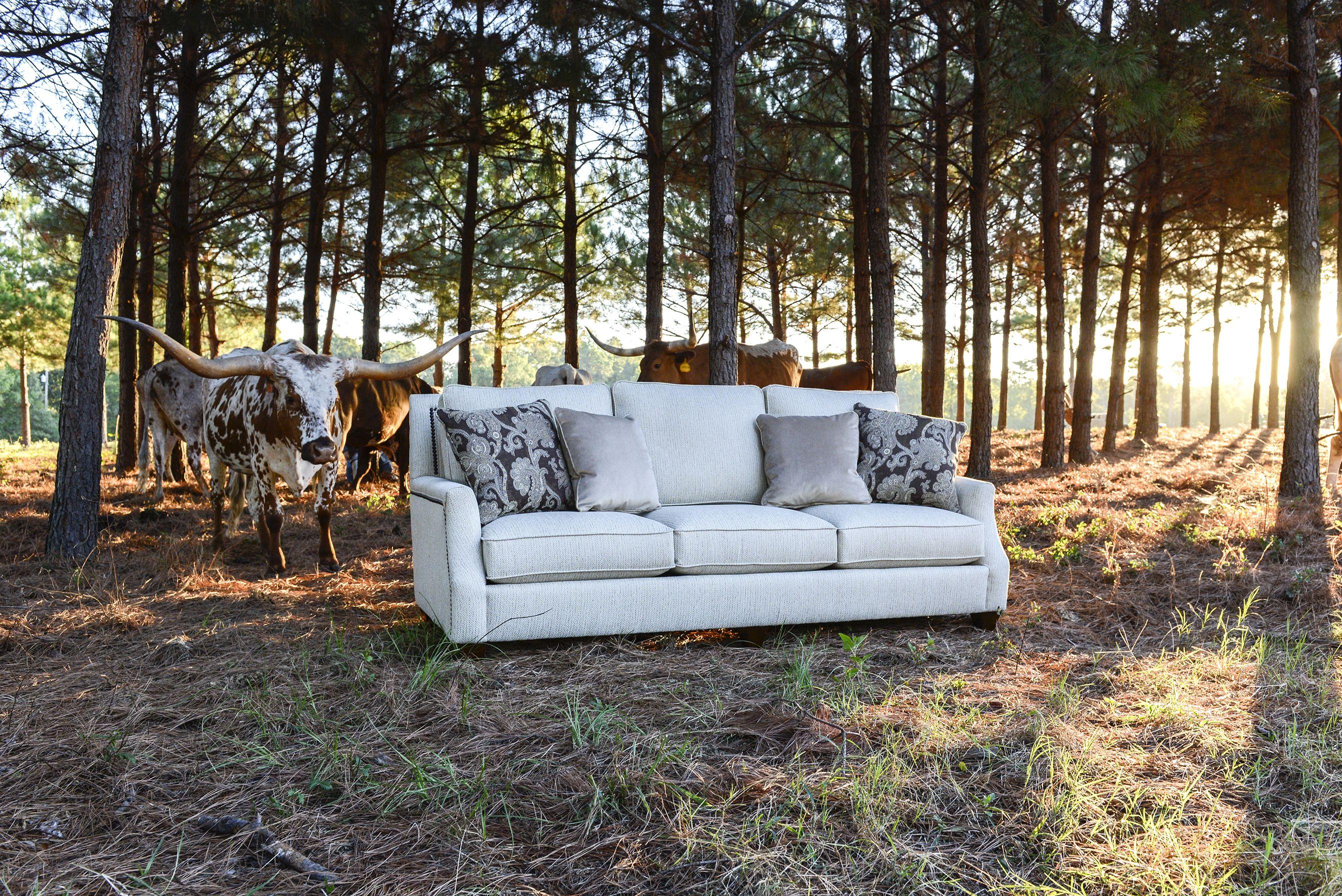 Mayo Furniture 6200 Fabric Sofa Clarion Cream Outdoor Sofa