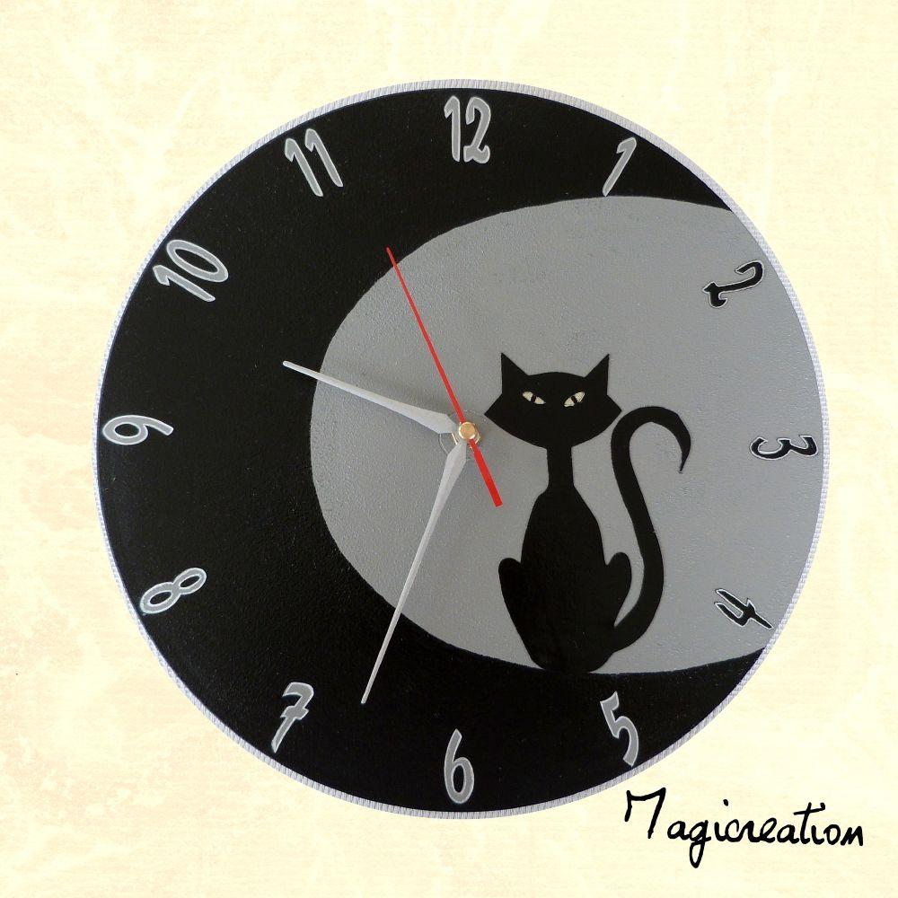 horloge sur vinyl 33 tours \