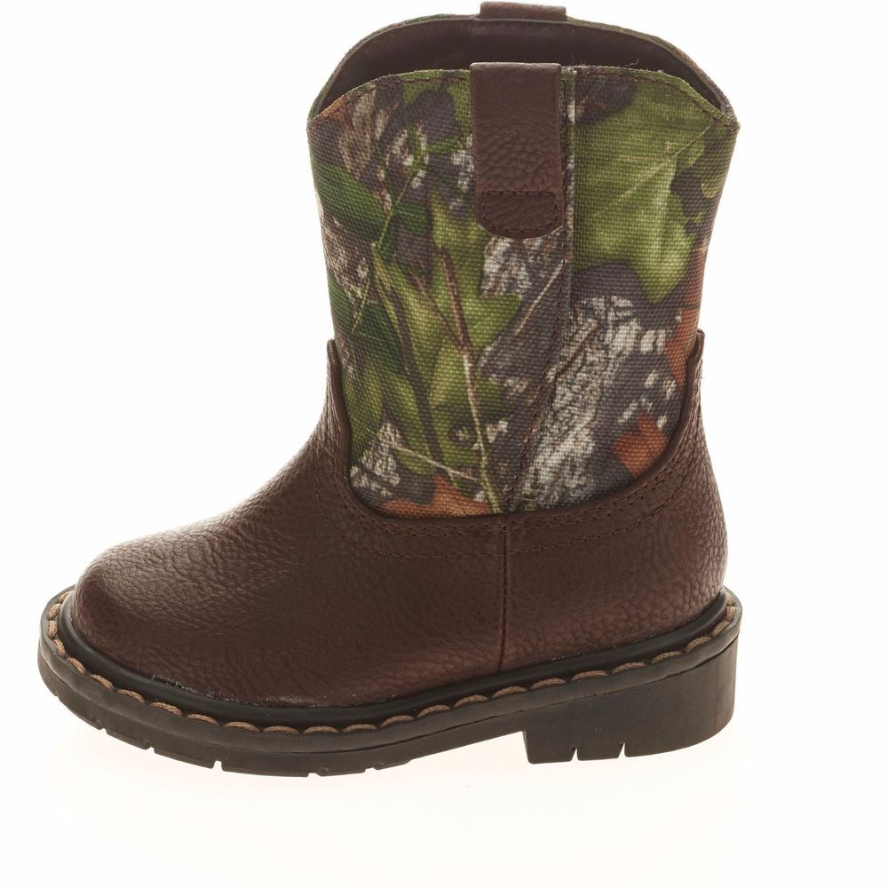 bac1cc0d1b655 Garanimals Mossy Oak Infant/Toddler Boys Camo Boot Size 4 New With ...