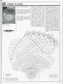 Kira scheme crochet: Scheme crochet no. 3471