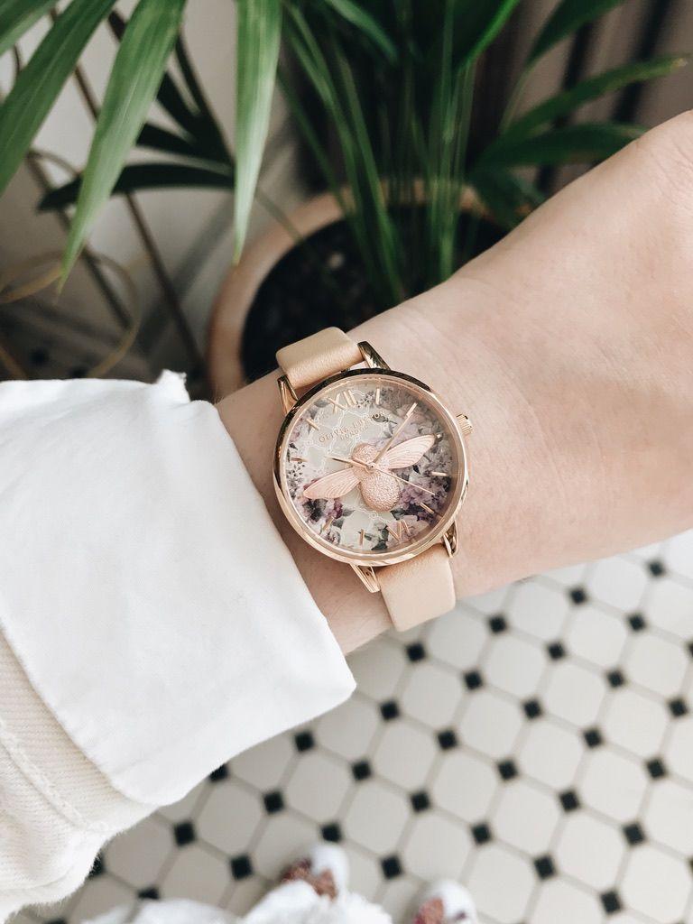 Olivia Burton Women's Glasshouse Watch - Nude Peach/Rose Gold的圖片搜尋結果