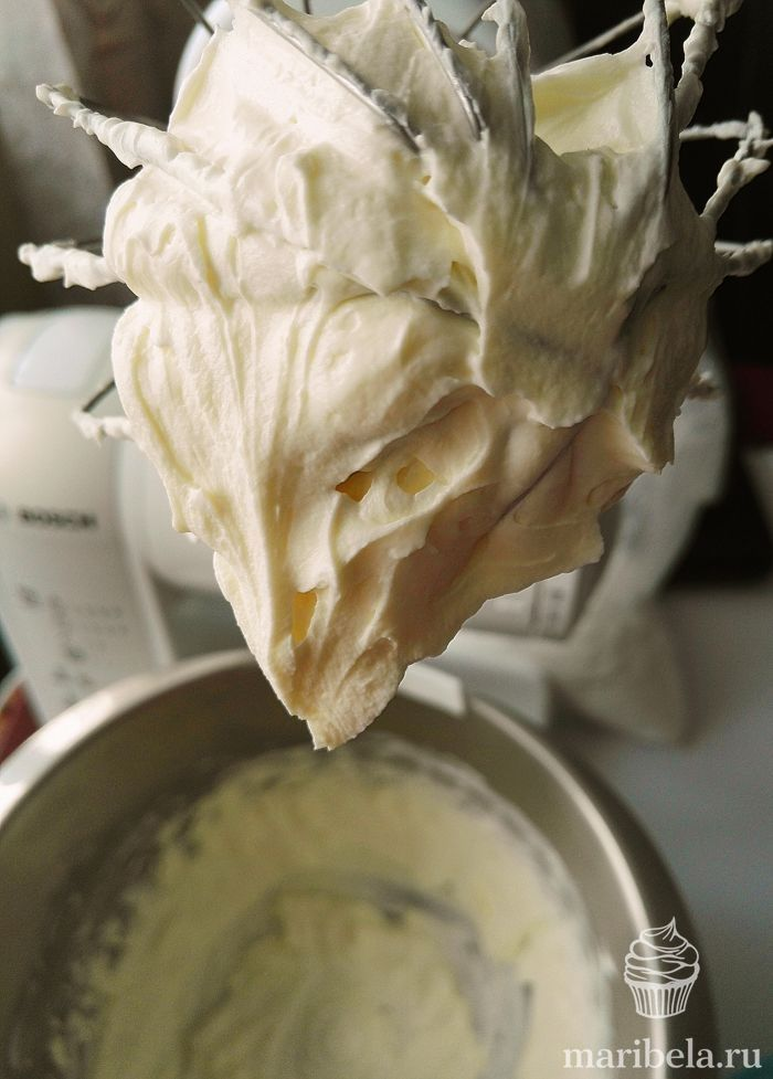 Рецепт сливочно-сырного крема пошагово с фото для ...
