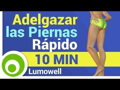 Como adelgazar piernas en 8 minutos