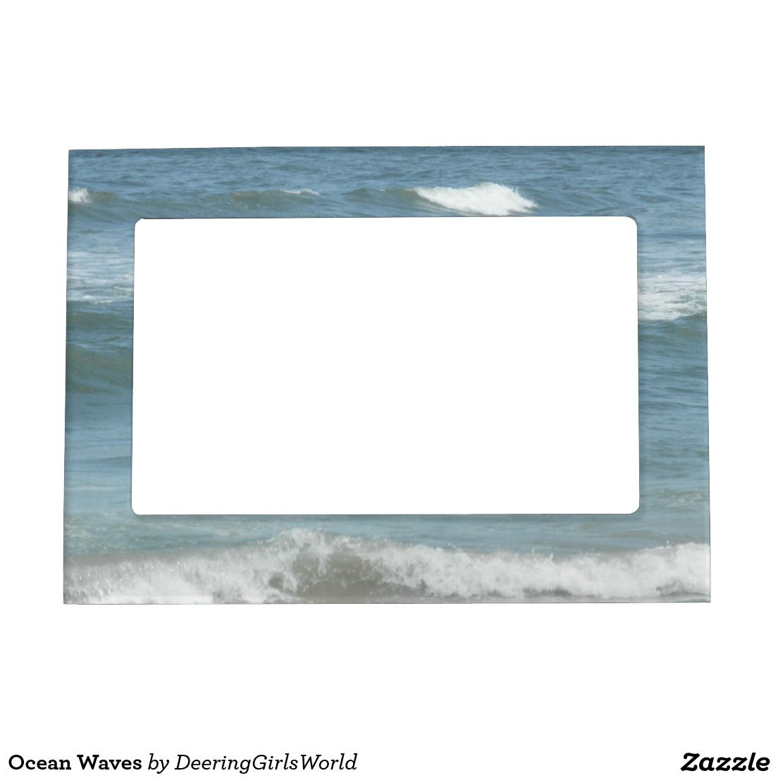 Ocean Waves Magnetic Picture Frame | Magnetic picture frames