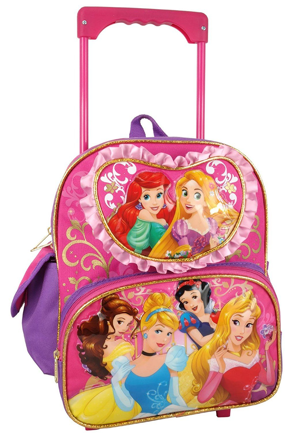 6a756a1230b7 Disney Princess Toddler 12  Rolling Backpack   You can get additional  details at the image link.