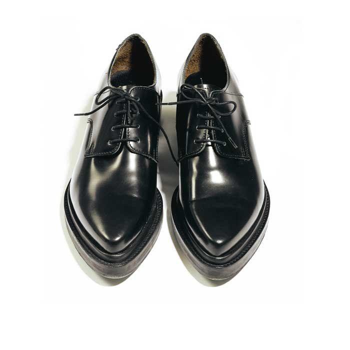 Pointus Femme Chaussures Chaussure Acne StudiosDerbies PkXZuTwOi