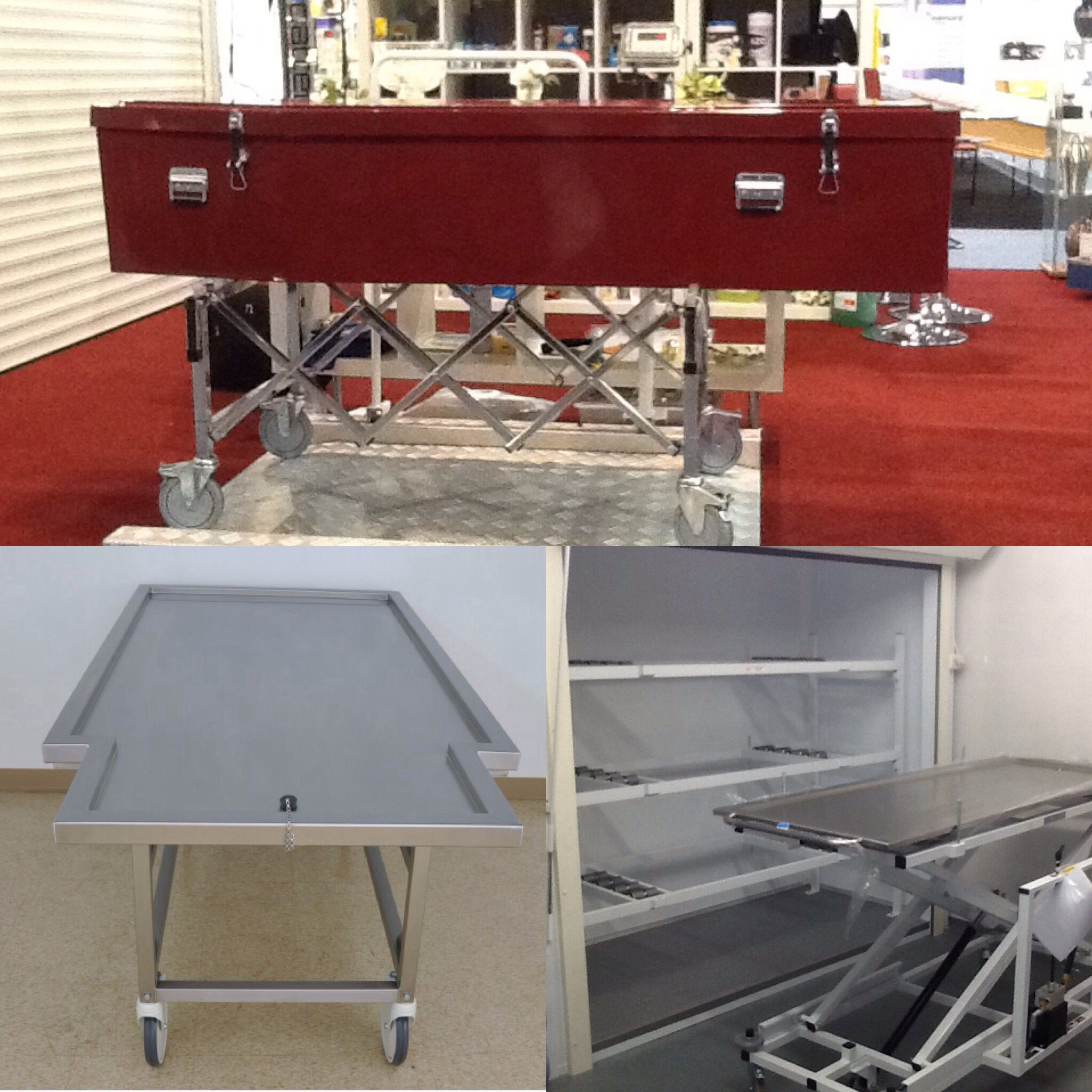 Removal shells and fibreglass coffins for #coroners removals