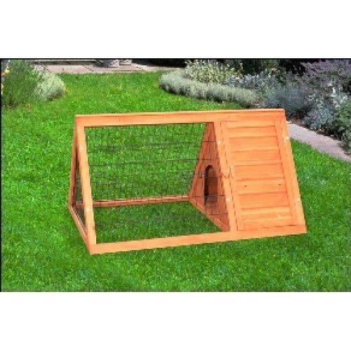 a frame rabbit house | Timber A Frame Rabbit Hutch 116cm