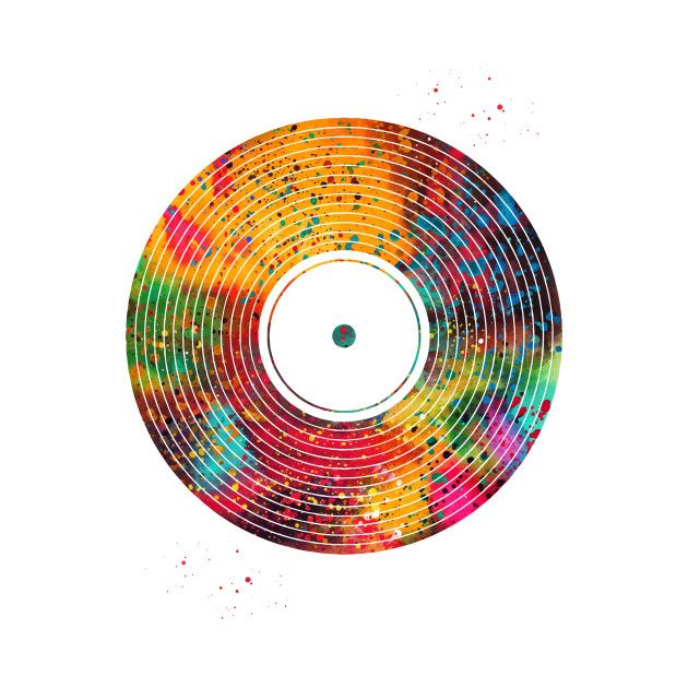 Schallplatten Kunst Check Out This Awesome 'vinyl+disc' Design On @teepublic ...