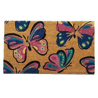 Mohawk Home Butterfly Style Coir Doormat 18 X 30 Coir Doormat Door Mat Rug Runners