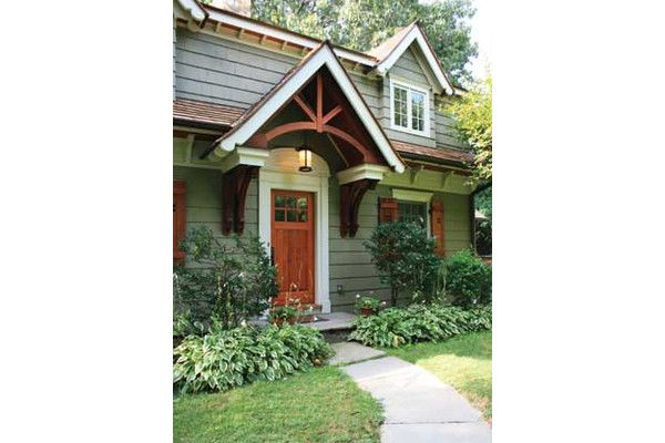 Front Porch Gable With Hanging Light House Exterior Craftsman Exterior Craftsman Style Homes