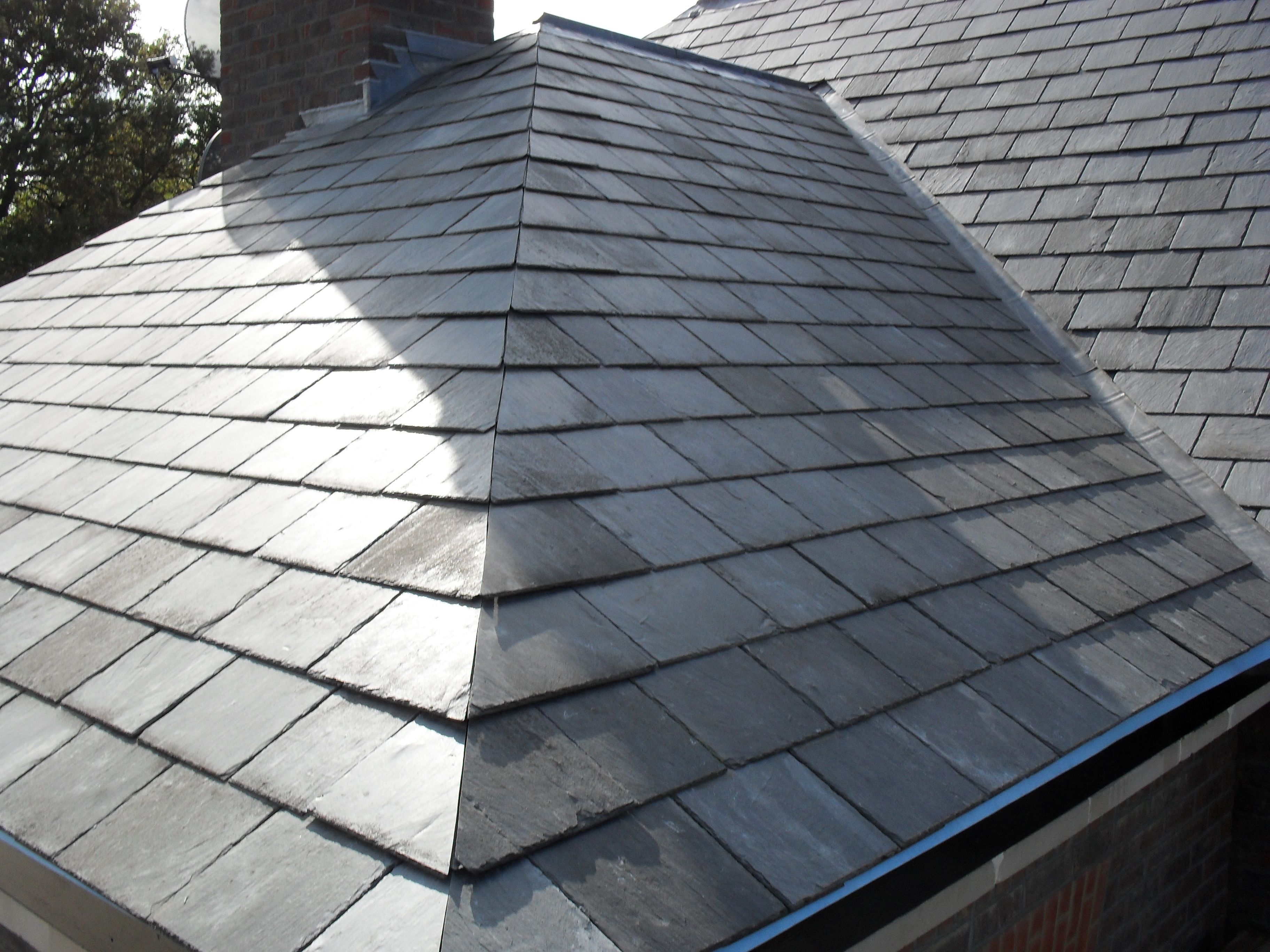 Image result for slate roof ideas for a second house i for Slate roof covering