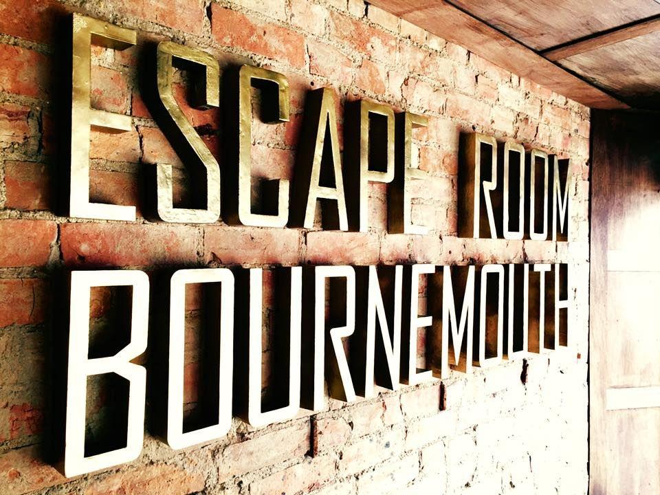 Brick Wall Escape Room Bournemouth Sign