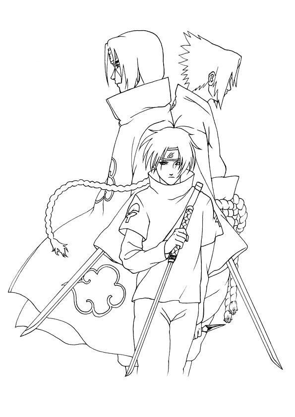 sasuke uchiha desenho  pesquisa google  coloring