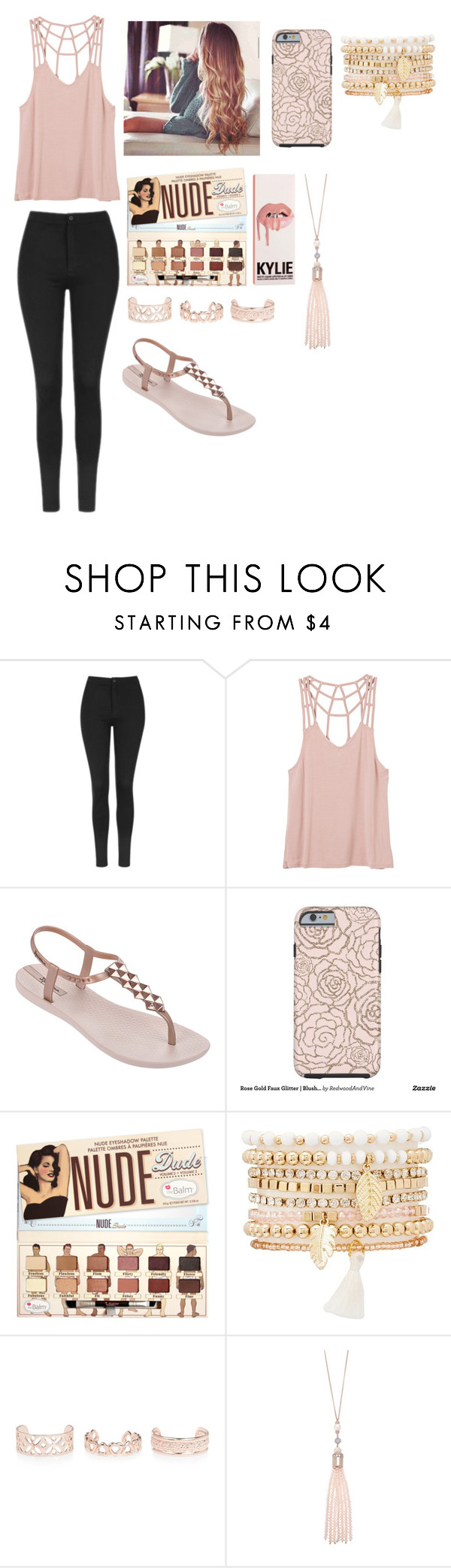 """""""Untitled #183"""" by fashiongirl3034 on Polyvore featuring Topshop, RVCA, IPANEMA, Charlotte Russe, New Look and Oasis"""