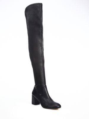 REBECCA MINKOFF Lauren Over-The-Knee Stretch Boots. #rebeccaminkoff #shoes #boots